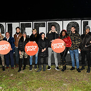 Celebrities join 1,000 Londoners for Sleep Out fundraiser to help homeless young people