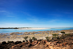 The sand bar at Barred Creek on the Dampier Peninsula
