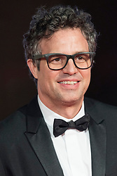 © Licensed to London News Pictures. 14/02/2016. London, UK.   MARK RUFFALO arrives on the carpet for the EE British Academy Film Awards 2016 after party held at Grosvenor House . London, UK. Photo credit: Ray Tang/LNPPhoto credit: Ray Tang/LNP