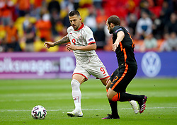 AMSTERDAM, NETHERLANDS - JUNE 21:  during the UEFA Euro 2020 Championship Group C match between North Macedonia and The Netherlands at Johan Cruijff Arena on June 21, 2021 in Amsterdam, Netherlands. (Photo by Christopher Lee - UEFA)