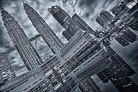 Kuala Lumpur - Petronas Towers, KLCC Park