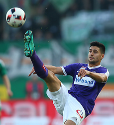 23.10.2016, Allianz Stadion, Wien, AUT, 1. FBL, SK Rapid Wien vs FK Austria Wien, 12 Runde, im Bild Tarkan Serbest (FK Austria Wien) // during Austrian Football Bundesliga Match, 12th Round, between SK Rapid Vienna and FK Austria Wien at the Allianz Stadion, Vienna, Austria on 2016/10/23. EXPA Pictures © 2016, PhotoCredit: EXPA/ Thomas Haumer