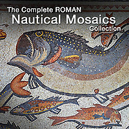 Pictures of Roman Mosaics of Seascapes, Ships, Marine Life & Mythical Sea Gods - - Pictures & Images