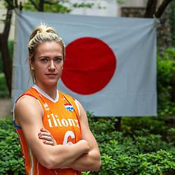 13-10-2018 JPN: World Championship Volleyball Women day 14, Nagoya<br /> Portraits Dutch Volleybal Team - Maret Balkestein-Grothues #6 of Netherlands