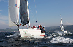 Largs Regatta Week 2015, hosted by Largs Sailing Club and Fairlie Yacht Club<br /> <br /> <br /> 2914C, Cool Bandit, Moody 336, Craig Anderson<br /> <br /> Credit Marc Turner
