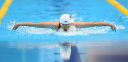 JAKARTA, Aug. 24, 2018  Zhou Min of China competes during women's 200m individual medley final of swimming at the 18th Asian Games in Jakarta, Indonesia, Aug. 24, 2018. (Credit Image: © Pan Yulong/Xinhua via ZUMA Wire)