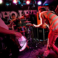 The Holloways performing live at Moho Live, Manchester, UK, 2010-10-29