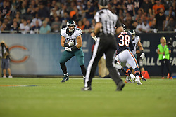 The Philadelphia Eagles beat the Chicago Bears 29-14 at Soldier Field on September 19, 2016 in Chicago, Pennsylvania.  (Photo by Drew Hallowell/Philadelphia Eagles)