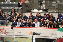 Supporters of Belgium<br /> Alltech FEI World Equestrian Games <br /> Lexington - Kentucky 2010<br /> © Dirk Caremans