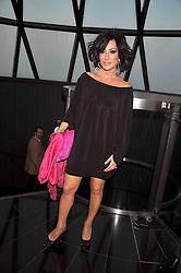 NANCY DELL'OLIO at the Variety Club gala evening held at The Gherkin, St.Mary Axe, City of London on 2nd July 2009.