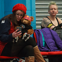 Teetown take on Engine of Fury at the MRD Sevens Tournament, Salford University Sports Centre, 2018-03-04