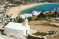 Grèce, Les Cyclades, Ile de Ios, plage de Milopotas // Greece, Cyclades, Ios island, Milopotas beach