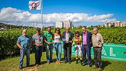 SANGUE MISSIONEIRO com a condução de L.Conceição vence o CLÁSSICO J. A. FLORES DA CUNHA páreo de 1.100 m Produtos de 2 anos. FOTO: Marcos Nagelstein/ Agência Preview
