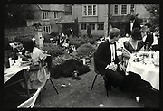 New College May Ball. Oxford. 1986, Oxford: The Last Hurrah. Negative scans.