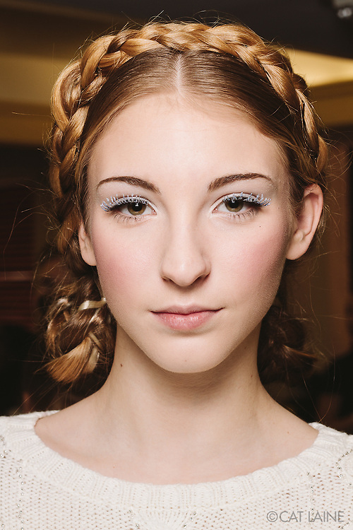 PROVIDENCE, RI - FEB 13: Savannah Reinitzer poses backstage prior to the Jess Abernethy show as part of StyleWeek NorthEast on February 13, 2015 in Providence, Rhode Island. (Photo by Cat Laine)