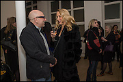 BRIAN CLARKE; JERRY HALL, Spitfires and Primroses, an exhibition of new work by Brian Clarke on Thursday 12 February 2015 at Pace London, 6-10 Lexington Street, London. 12 February 2015