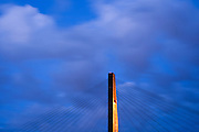 Skytrain Bridge to Surrey from New Westminster