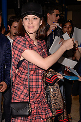 Marion Cotillard arrives at the airport ahead of the 70th Cannes Film Festival in Nice, France, on May 16, 2017. Photo by Julien Reynaud/APS-Medias/ABACAPRESS.COM