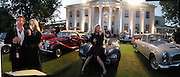Brother and sister, Dominic Blakey and Georgea Blakey. Louis Vuitton Concours d'Elegance, Hurlingham.  8 June 2002.  Copyright Photograph by Dafydd Jones 66 Stockwell Park Rd. London SW9 0DA Tel 020 7733 0108 www.dafjones.com