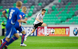 Marc Oliver Kempf of Germany during the UEFA European Under-17 Championship Group A match between Iceland and Germany on May 7, 2012 in SRC Stozice, Ljubljana, Slovenia. Germany defeated Iceland 1-0. (Photo by Vid Ponikvar / Sportida.com)