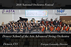 Denver School of the Arts Advanced String Orchestra