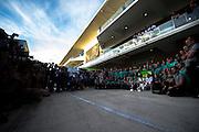 October 30-November 2 : United States Grand Prix 2014, Lewis Hamilton celebrates with the Mercedes Petronas team