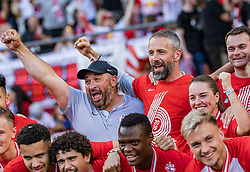 26.05.2019, Red Bull Arena, Salzburg, AUT, 1. FBL, FC Red Bull Salzburg Meisterfeier, im Bild Trainer Marco Rose (FC Red Bull Salzburg) // during the Austrian Football Bundesliga Championsship Celebration at the Red Bull Arena in Salzburg, Austria on 2019/05/26. EXPA Pictures © 2019, PhotoCredit: EXPA/ JFK