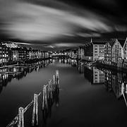 Trondheim in B&W
