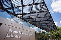 Washington DC Photography of Francis Gregory Library by Jeffrey Sauers of Commercial Photographics