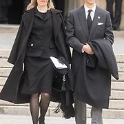 LUX/Luxemburg/20190504 - Funeral of HRH Grand Duke Jean/Uitvaart Groothertog Jean, Prins Alois van Liechtenstein en zijn vrouw prinses Sophie