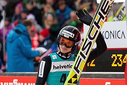 22.12.2013, Gross Titlis Schanze, Engelberg, SUI, FIS Ski Jumping, Engelberg, Herren, im Bild Gregor Deschwanden (SUI) // during mens FIS Ski Jumping world cup at the Gross Titlis Schanze in Engelberg, Switzerland on 2013/12/22. EXPA Pictures © 2013, PhotoCredit: EXPA/ Eibner-Pressefoto/ Socher<br /> <br /> *****ATTENTION - OUT of GER*****
