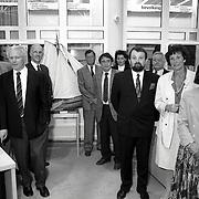 NLD/Huizen/19900501 - Installatie van de nieuwe gemeenteraad in Huizen 1990