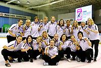 Ishockey<br /> VM for kvinner<br /> Graz Østerrike <br /> Norge<br /> Foto: Gepa/Digitalsport<br /> NORWAY ONLY<br /> <br /> 10.04.2009<br /> <br /> IIHF Damen Eishockey Weltmeisterschaft<br /> Lagbilde Norge - bronsemedalje