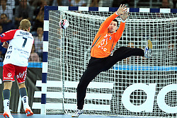 21.11.2015, Arena Zagreb, Zagreb, CRO, EHF CL, RK PPD Zagreb vs SG Flensburg Handewitt, Gruppe A, im Bild Filip Ivic. // during the EHF Champions League, group A match between RK PPD Zagreb and SG Flensburg Handewitt at the Arena Zagreb in Zagreb, Croatia on 2015/11/21. EXPA Pictures © 2015, PhotoCredit: EXPA/ Pixsell/ Goran Stanzl<br /> <br /> *****ATTENTION - for AUT, SLO, SUI, SWE, ITA, FRA only*****