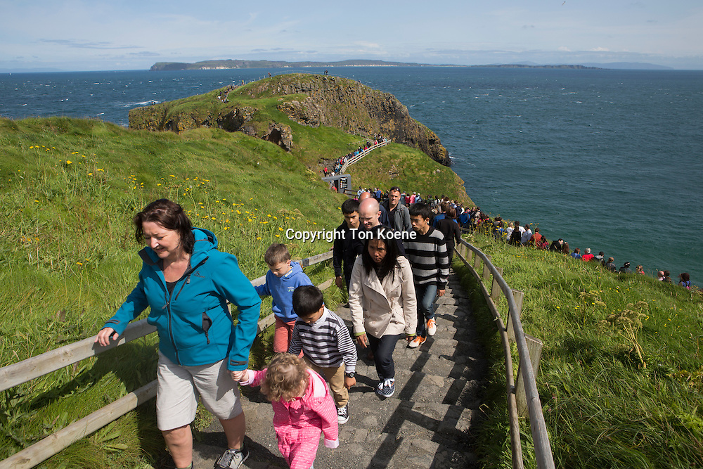 Carrick-a-Rede Rope Bridge is a famous rope bridge near Ballintoy in County Antrim, Northern Ireland.