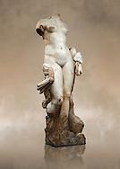 The Roman Sculpture Venus of Italica or Diosa Venus, found in 1940 near the theatre. 117 AD. Archaeological Museum, Seville, Spain