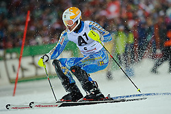 24.01.2012, Planai, Schladming, AUT, FIS Weltcup Ski Alpin, Herren, Slalom 1. Durchgang, im Bild Andre Myhrer (SWE) // Andre Myhrer of Sweden during the first run of the FIS Alpine Skiing World Cup mens slalom race, Schladming, Austria on 2012/01/24. EXPA Pictures © 2012, PhotoCredit: EXPA/ Sandro Zangrando