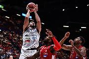 Tyler Cain<br /> A|X Armani Exchange Olimpia Milano - Germani Basket Brescia<br /> Basket Serie A LBA 2019/2020<br /> MIlano 29 September 2019<br /> Foto Mattia Ozbot / Ciamillo-Castoria
