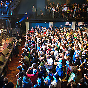 Washington, D.C. - May 31, 2010:  Trouble Funk closed out the nights festivities at the 30th Anniversary concert at the legendary 9:30 Club. (Photo by Kyle Gustafson/For The Washington Post)