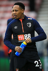 Bournemouth's Nathaniel Clyne warming up before the Emirates FA Cup, third round match at the Vitality Stadium, Bournemouth.