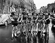 Rás Tailteann at GPO/Parnell Square. 03/08/1958