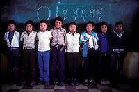kids in an elementary school in rural Guatemala