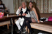NICKY HASLAM; COLETTE VAN DEN THILLART, , Launch of Nicky Haslam's book Redeeming Features. Aqua Nueva. 5th floor. 240 Regent St. London W1.  5 November 2009.  *** Local Caption *** -DO NOT ARCHIVE-© Copyright Photograph by Dafydd Jones. 248 Clapham Rd. London SW9 0PZ. Tel 0207 820 0771. www.dafjones.com.<br /> NICKY HASLAM; COLETTE VAN DEN THILLART, , Launch of Nicky Haslam's book Redeeming Features. Aqua Nueva. 5th floor. 240 Regent St. London W1.  5 November 2009.