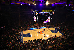 January 26, 2020, New York, New York, United States: A moment of silence is held for NBA Legend, Kobe Bryant before the game between the New York Knicks and the Brooklyn Nets at Madison Square Garden in New York City.  (Credit Image: © Vanessa Carvalho/ZUMA Wire)