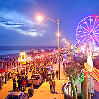 Galveston Mardi Gras 2012.  Events and Parades on The Strand and The Seawall.