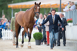 Ruder Kai, (GER), Colani Sunrise<br /> First Horse Inspection <br /> CCI4* Luhmuhlen 2016 <br /> © Hippo Foto - Jon Stroud
