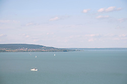 View of Lake Balaton from Tihany, Hungary