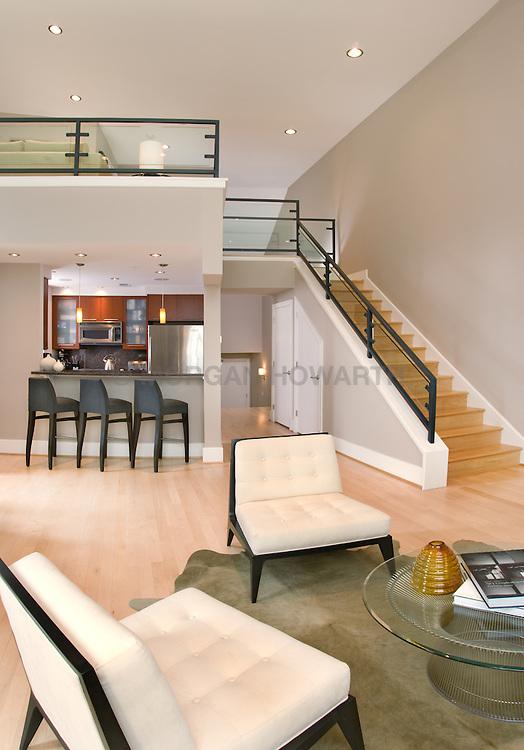 2109 10th Street, NW loft apartment Washington DC Stair stairway