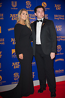 Pamela Laird, Ryan-Mark Parsons at  the British Curry Awards, at Evolution Battersea park London.
