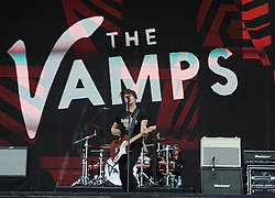 The Vamps perform  - Photo mandatory by-line: Joe Meredith/JMP - Mobile: 07966 386802 - 14/09/14 - The Invictus Games - Day 4 - Closing Ceremony - London - Queen Elizabeth Olympic Park